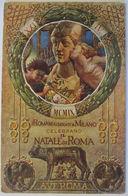 Italien, Natale Di Roma, Künstlerkarte 1913  - Zonder Classificatie