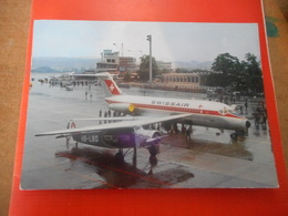 CPA Ancienne - 1927 Fokker VII A 8 Platze - 1966 Douglas DC * 75 Platze - 1946-....: Ere Moderne