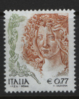 Italia Repubblica 2003 Donne Nell'arte 0,77€ Dent 13 1/4 **/MNH VF - 1991-00: Mint/hinged