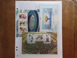 SAN MARINO - 3 BF Anni '80 Timbrati + Spese Postali - Blocks & Sheetlets