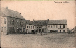 ! Ostflandern, Beveren, De Plaats, Belgien, 1916, Feldpost 9. Resevekorps, Nach Hamburg Altona - Beveren-Waas