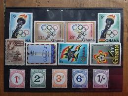 GHANA - Serie Complete Nuove ** + Spese Postali - Ghana (1957-...)
