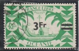 OCEANIE  Timbre De 1942 Avec Nouvelle Valeur En Surcharge  N° 177 Oblitéré - Used Stamps