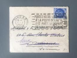 France N°507 Seul Sur Lettre OBL Mecanique - (B2829) - 1921-1960: Période Moderne