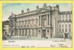 * Brussel - Bruxelles - Brussels * (Nels, Série 1, Nr 135 - COULEUR) Banque Nationale, Nationale Bank, Animée, TOP - Bruxelles-ville
