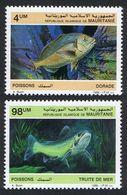 1986Mauritania899-900Sea Fauna5,70 € - Vita Acquatica