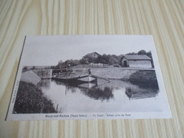 Scey-sur-Saône (70).Le Canal - Ecluse Près Du Port. - France