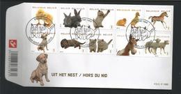 Belgium 2010 Small Animals OCB  4004/4013 (0) - 2011-...