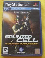 Sprinter Cell Pandora Tomorrow // PS2 - Sony PlayStation