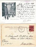 NAPOLI - GALLERIA UMBERTO I - VIAGG. 1899 -1184- - Napoli (Nepel)
