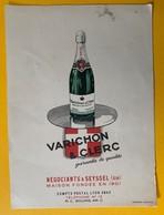 10066 - Publicité Roussette Varichon & Clerc Vers 1930 - Facturas