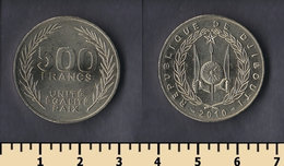 Djibouti 500 Francs 2010 - Djibouti