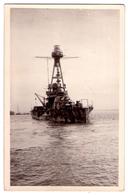 """7002 - Ouistreham - Riva-Bella ( 14 ) - """" Le Courbet """" Et Bateaux échoués ( Le 6 Juin 1944 ) - Ph. Wavelet à R.B. - - Guerra"""