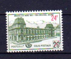 373*. Colis Postaux Belgique 1961, Ancienne Gare Du Nord à Bruxelles, CF 373*, Cote 20 € - 1952-....