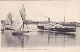 LA TOUQUES : Paquebots : Sortie Du Bateau De Trouville - ( Le Havre N° 563 ) - Steamers
