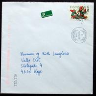 Denmark 2016 Letter  Minr.1908 ( Lot  2536 ) - Covers & Documents