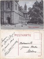 SPEYER - GERMANIA - GERMANY - DEUTSCHLAND - PARTIE DOMGARTEN - VIAGG. -99420- - Cartes Postales