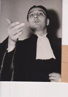 ME DE LA PRADELLE AVOCAT DR HAAGEN AU PROCES MEDECINS NAZIS STRUTHOF. METZ 1952_+-14*9 CM - Personnes Identifiées