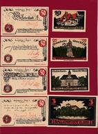Allemagne 8 Notgeld- Stadt -Ballenstedt/ Mühlausen Dans L 'état Lot N °8 - Verzamelingen
