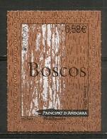 ANDORRA. Wood Stamp Andorra. Timbres En Bois (Liège) , Neuf ** - Andorre Français