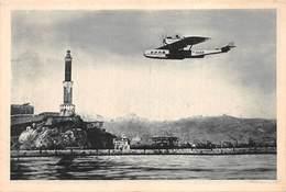 "NAVIGAZIONE AEREA S.A. Hydravion "" DORNIER-WAL"" In Arrivo A Genova - 1919-1938: Entre Guerres"