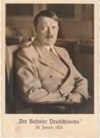 AK Propaganda/ Der Befreier Deutschlands 30. Januar 1933 (7880/6) - Weltkrieg 1939-45