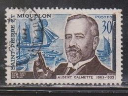 ST PIERRE & MIQUELON Scott # 366 Used - Albert Calmette - St.Pierre Et Miquelon