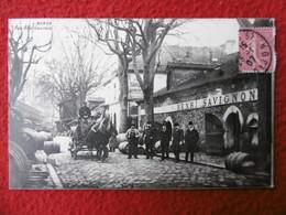 BERCY RUE ABEL LAURENT Vins HENRI SAVIGNON Attelage Transport De Futailles - Arrondissement: 12