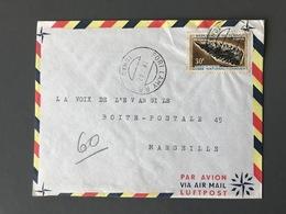 TCHAD, Lettre De FORT LAMY 1967 Pour Marseille - (C1171) - Tchad (1960-...)