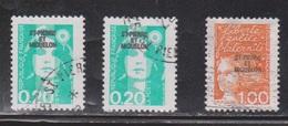 ST PIERRE & MIQUELON Scott # 523, 525 Used - Stamps Of France With Overprint - St.Pierre Et Miquelon