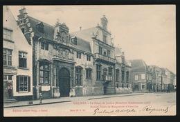 MECHELEN   LE PALAIS DE JUSTICE  ANCIEN PALAIS DE MARGUERITE D'AUTRICHE   A.SUGG  23 / 12 - Mechelen
