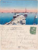 TRIESTE - MOLO S. CARLO - VIAGG. -88227- - Trieste