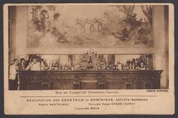 Rare Cpa 74 Bar Du Casino Du Chamonix Palace - Dégustation Des Coktails De Dominique Artiste Barmann - Photo Monnier - Chamonix-Mont-Blanc