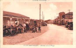 11 AUDE L'Avenue De La Plage  Devant La Buvette De La NOUVELLE - Port La Nouvelle