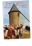 Cpm - Collection Bourguignonne Maconnaise Beaujolaise Groupe Folklorique Moulin à Vent - FEMMES - MOISY N°12 - Bourgogne