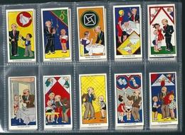 GF462 - SERIE 50 CARTES CIGARETTES CARRERAS - AMUSING TRICKS - TOURS DE MAGIE - ILLUSIONS - Cigarette Cards