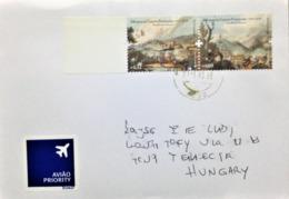 "Portugal, Circulated Cover To Hungary, ""History"", ""Battles"", ""Peninsular War"", 2011 - 1910-... República"