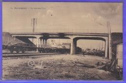 Carte Postale 59. Berlaimont  Le Nouveau Pont Et Les Chemins De Fer   Très Beau Plan - Berlaimont