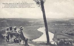 CPA - Domme -Une Vue Prise Sur La Barre De Domme - France