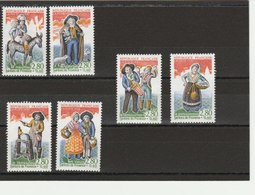 FRANCE  SERIE COMPLETE N°2976/2981 LUXE** COTE 9.00 EUROS - France