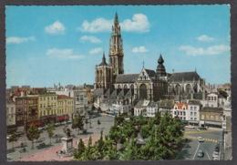 103869/ ANTWERPEN, Groenplaats En Kathedraal - Antwerpen