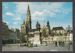 103874/ ANTWERPEN, Groenplaats En Standbeeld Van Rubens - Antwerpen