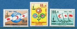Turquie - YT N° 1664 à 1666 - Neuf Sans Charnière - 1963 - 1921-... Repubblica