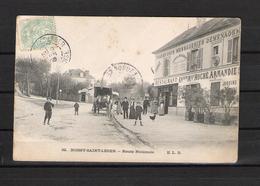 94 - BOISSY SAINT LEGER  N° 22  / ROUTE NATIONALE    /  RESTAURANT Ancienne Maison ROCHE ARMANDIE - Attelage - Boissy Saint Leger