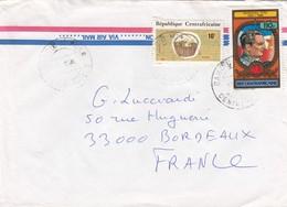 LETTRE CENTRAFRIQUE POUR LA FRANCE. TITO - Central African Republic