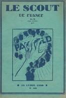 """Revue """"LE SCOUT DE FRANCE"""" N° 109 - 15 Avril 1930. - Scouting"""