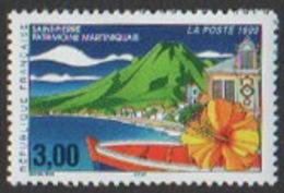 France Neuf Sans Charnière 1999 Ville Saint-Pierre Martinique Hibiscus Volcan   YT 3244 - Nuevos