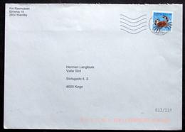 Denmark  2017 Letter  Minr,1909   ( Lot 2535 ) - Covers & Documents
