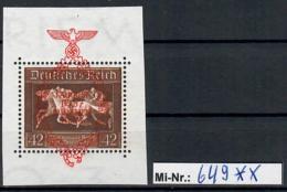 Deutsches Reich Mi-Nr.: 649 Einzelmarke Aus Block 10 Sauber Postfrisch (Michelwert: 75 EURO) - Deutschland