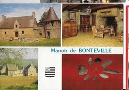 35 - MONTOURS - Manoir De Bonteville   JPV - France